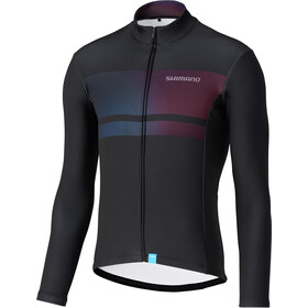 Shimano Team Maillot À Manches Longues Homme, black